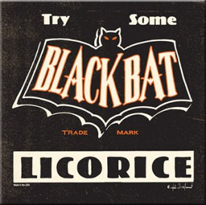 Black Bat Licorice