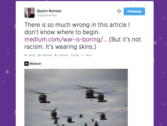 Quinn Norton Twitter